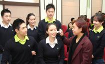[专职彩妆教育] 大韩航空JIN AIR 乘务员彩妆教育