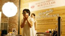 [形象造型教育] 郑瑄茉在VIPS指导彩妆课程讲演
